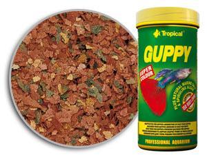 RAÇÃO TROPICAL GUPPY - Pote 20 gr