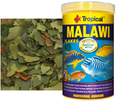 RAÇÃO TROPICAL MALAWI FLAKES - Pote 50 gr