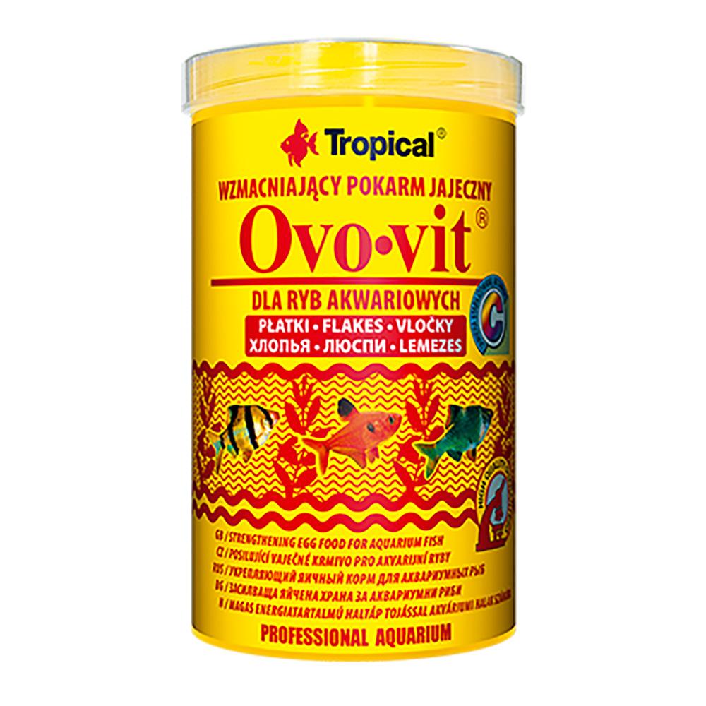 RAÇÃO TROPICAL OVO-VIT - Pote 20 gr