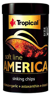 RAÇÃO TROPICAL SOFT LINE AMERICA CHIPS - Pote 52 gr