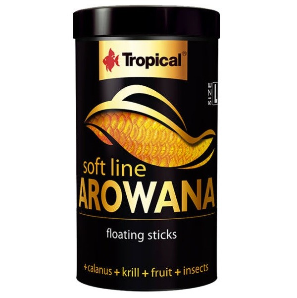 RAÇÃO TROPICAL SOFT LINE AROWANA (SIZE L) - Pote 80 gr