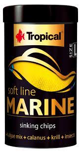 RAÇÃO TROPICAL SOFT LINE MARINE (SIZE L) - Pote 52 gr