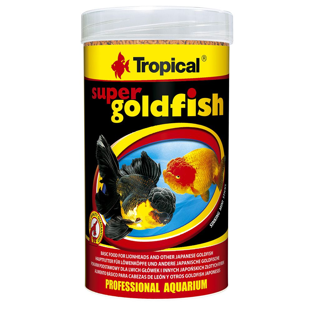 RAÇÃO TROPICAL SUPER GOLDFISH MINI STICKS - Pote 150 gr