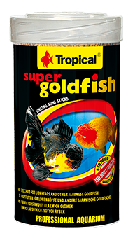 RAÇÃO TROPICAL SUPER GOLDFISH MINI STICKS - Pote 60 gr