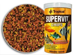 RAÇÃO TROPICAL SUPERVIT CHIPS - Pote 52 gr