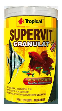 RAÇÃO TROPICAL SUPERVIT GRANULAT - Pote 55 gr