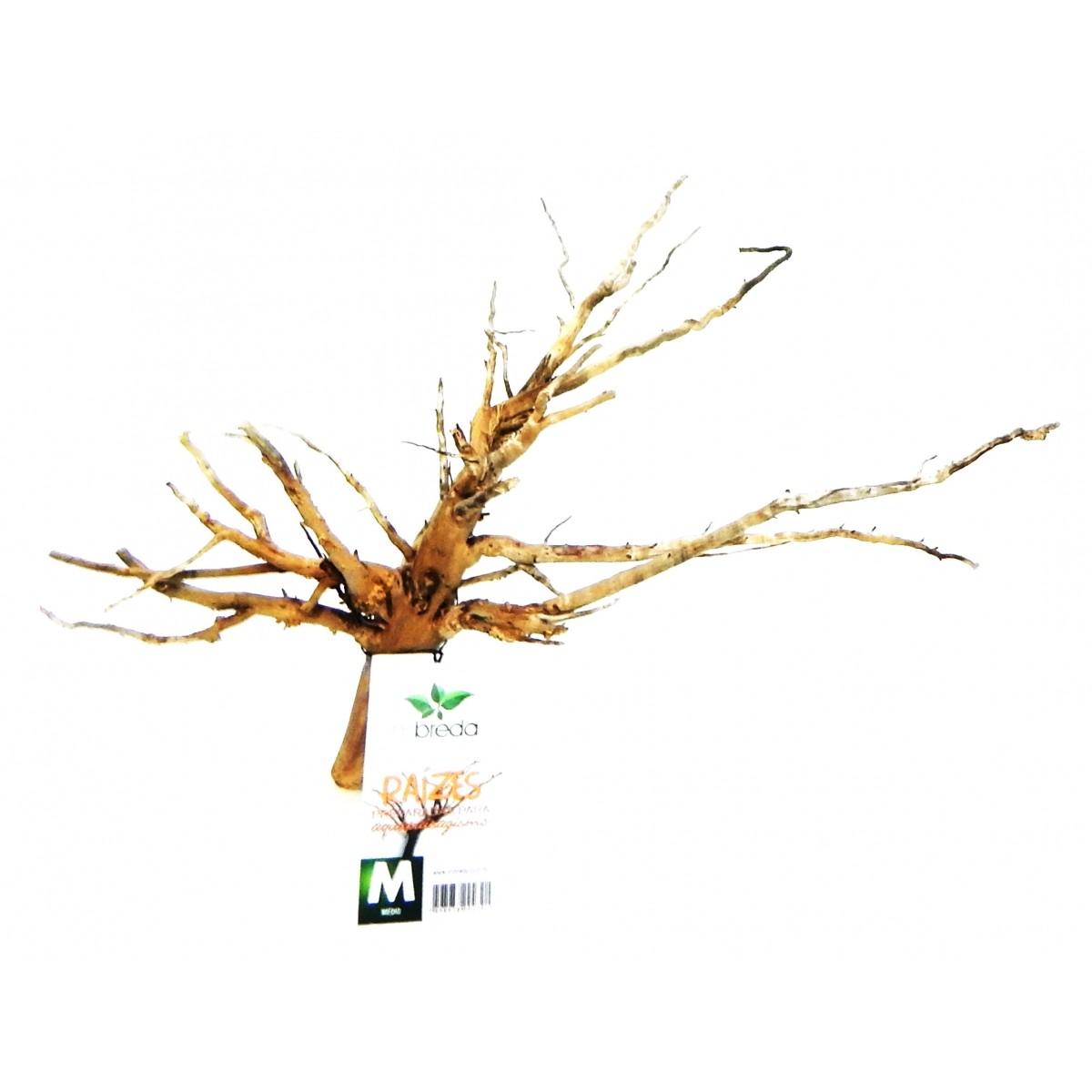 RAIZ NATURAL MBreda para decoração em aquários - Tamanho M-08