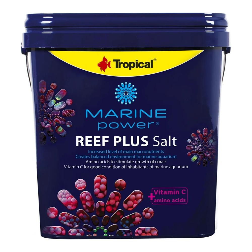 SAL MARINHO TROPICAL MARINE POWER REEF PLUS SALT - Balde 10 Kg