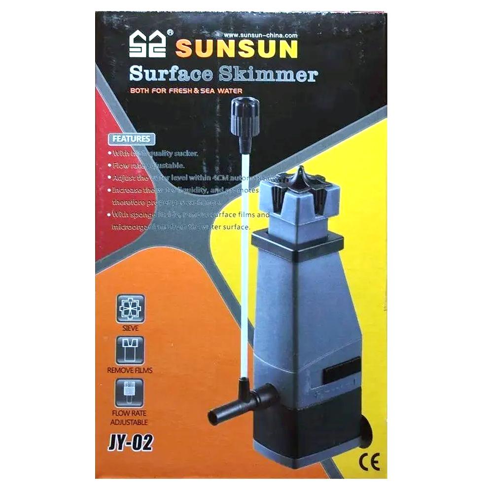 SKIMMER DE SUPERFÍCIE SUNSUN JY-02 300 L/H - 110 Volts