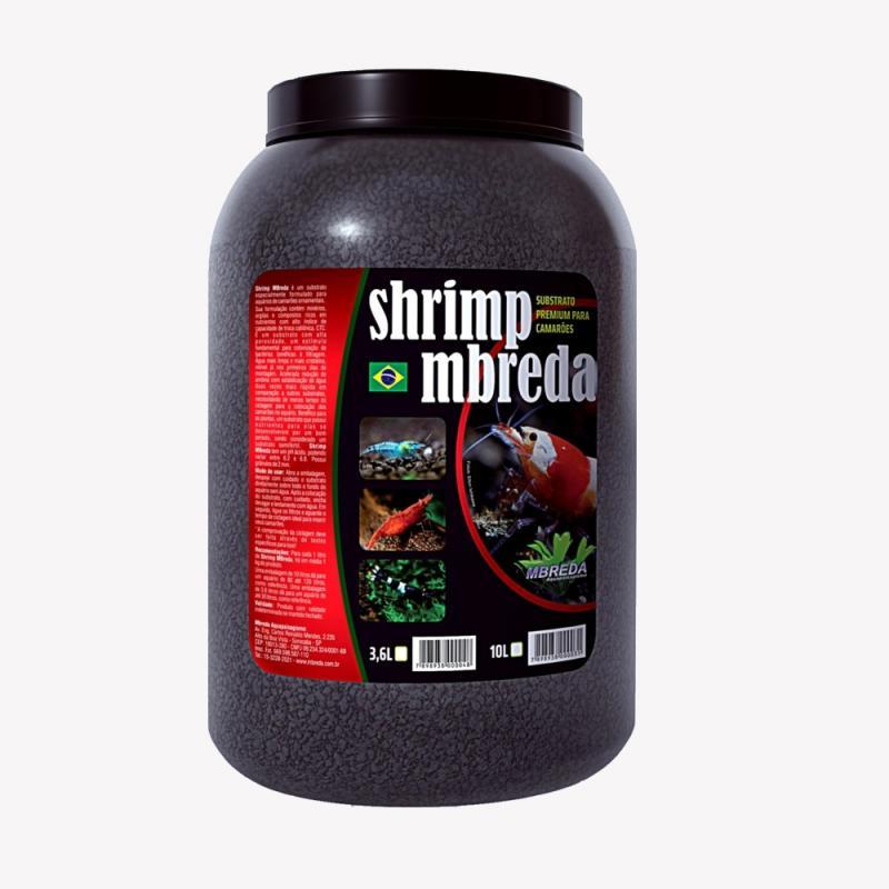 Substrato Shrimp Mbreda - Pote 3,6 l