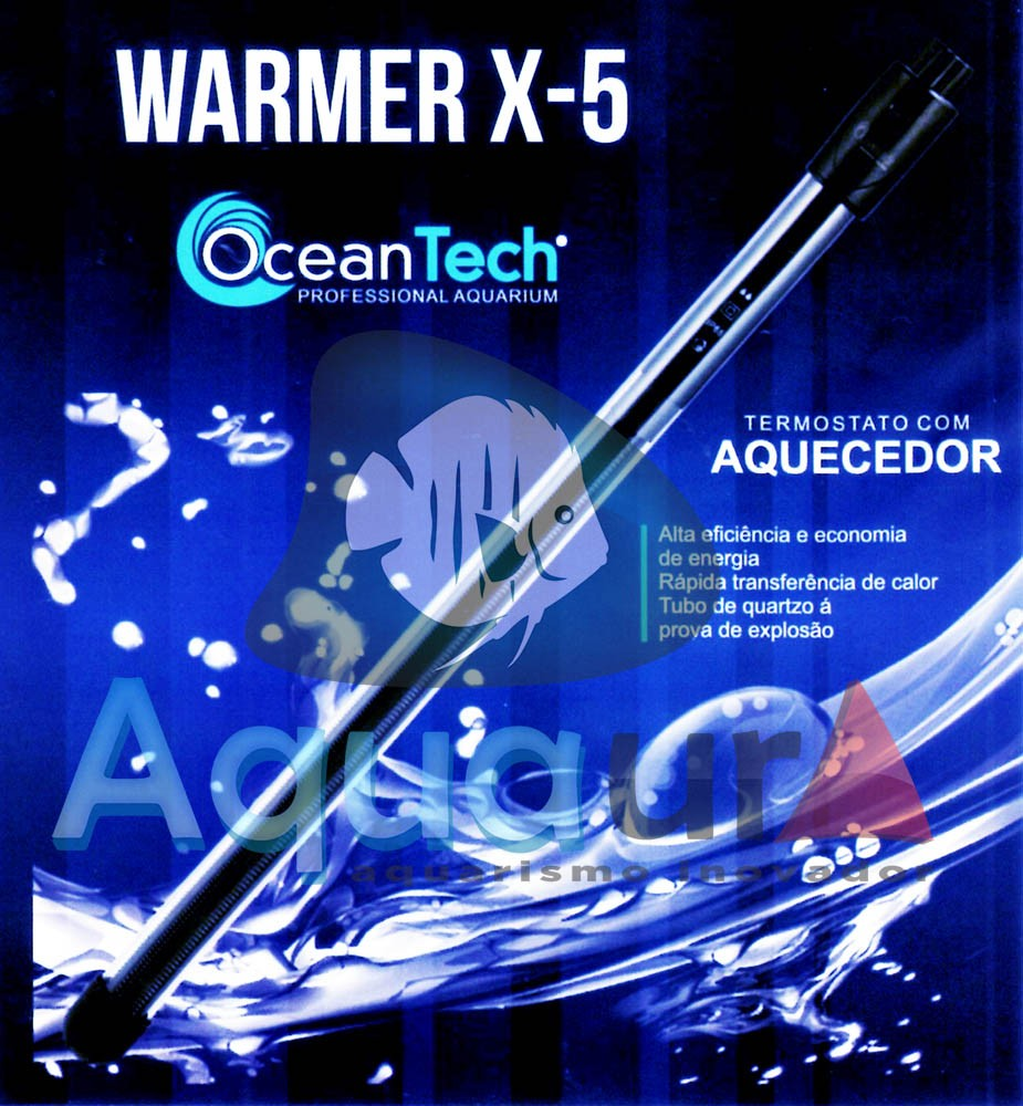 TERMOSTATO OCEAN TECH WARMER X-5 200W - 110 VOLTS