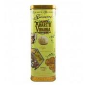 Amaretti Macio Virginia - Rinomata e Premiata Specialita Soft Amaretti - Lata Ouro Verde - 200gr