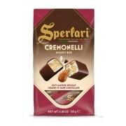 Cremonelli - Torroncini Macio coberto com chocolate com amêndoas 130gr - SPERLARI