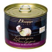 Escargots de Bourgogne Cozidos em Conserva com Temperos 125gr