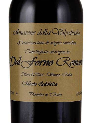 Amarone Della Valpolicella D.O.C DAL FORNO ROMANO 750ml