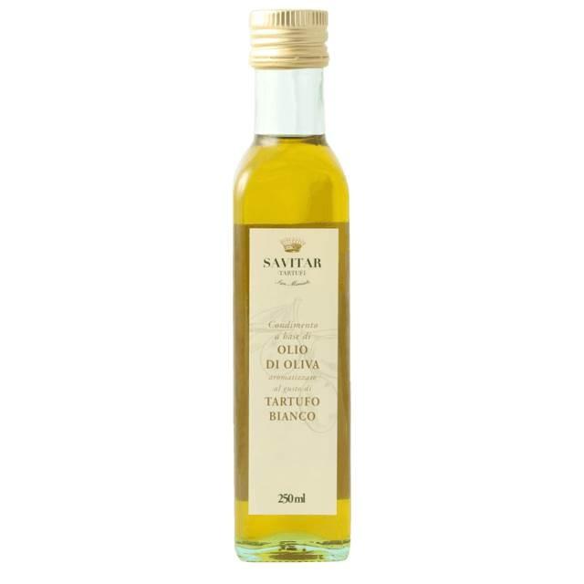 Azeite Condimentado com Trufa Branca Vidro Quadrado 250ml - SAVITAR
