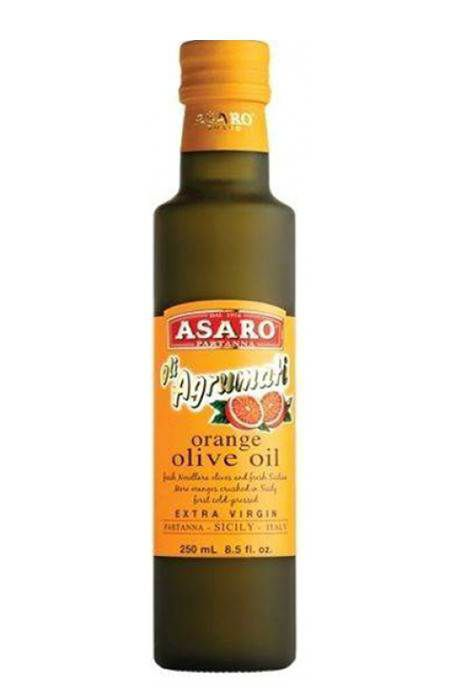 Azeite de Oliva E.V. com Essência de Laranja Asaro 250ml