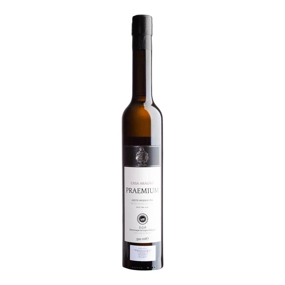 Azeite Extra Virgem Casa Aragão Praemium 500ml (Acidez Máx. 0,1%)
