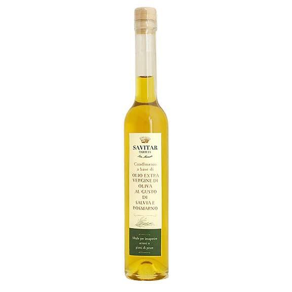 Azeite Extra Virgem Condimentado Savitar 100ml - Sabor Sálvia e Alecrim