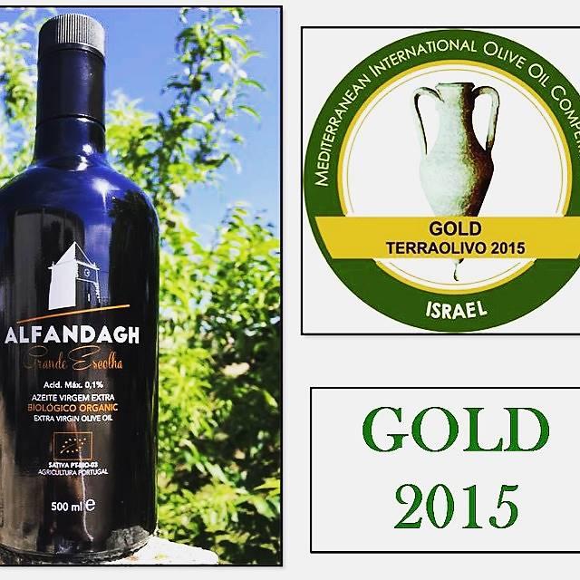 Azeite Extra Virgem Orgânico Alfandagh Grande Escolha 500ml (Acidez Máx. 0,1%)