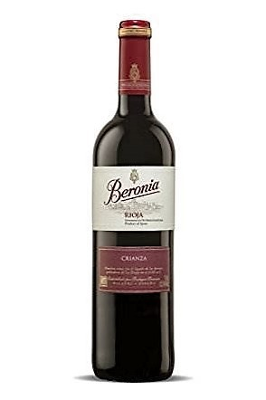 Beronia Crianza Tempranillo Rioja 750ml
