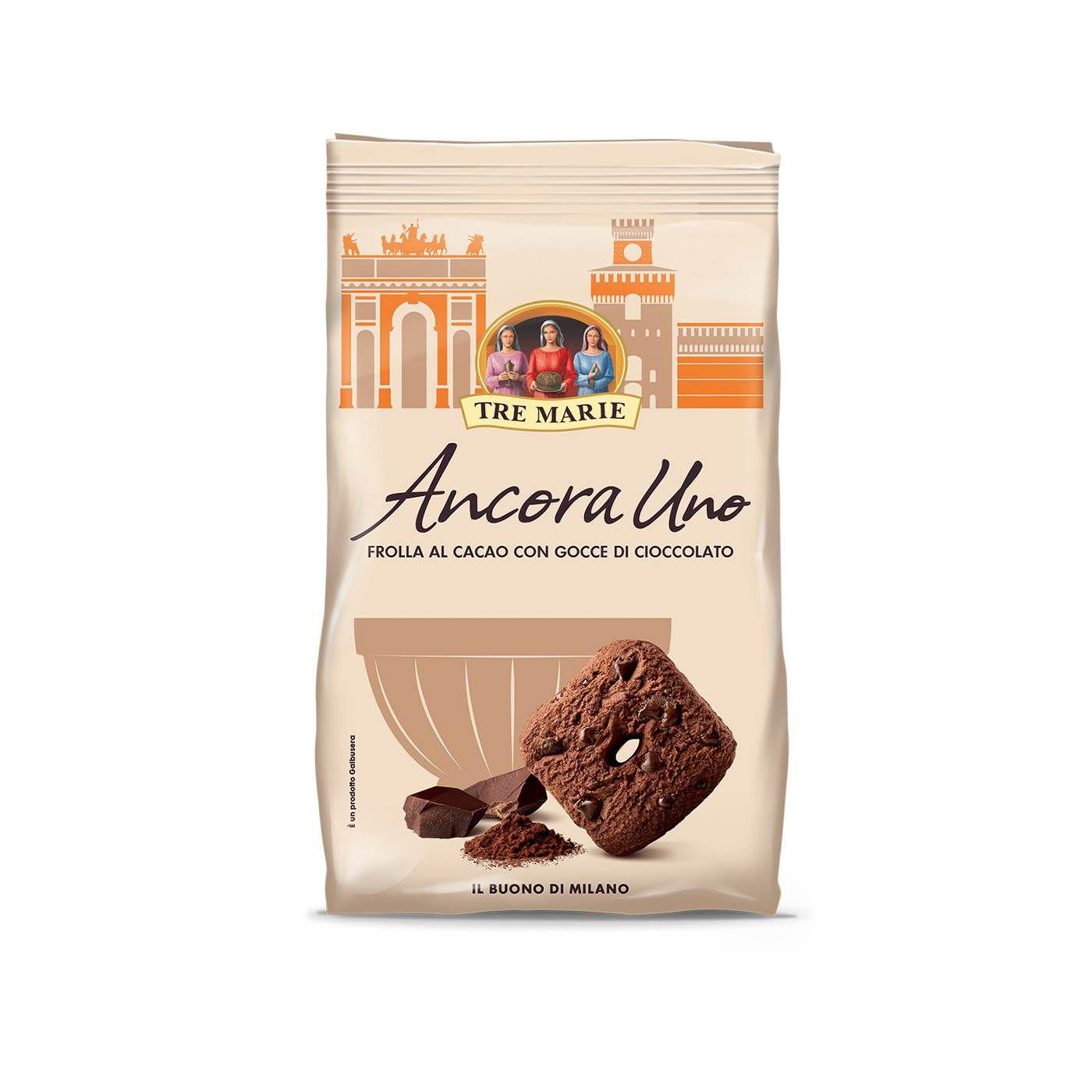 Biscoito Frolla AL Cacao Gocce Ancora Uno 300gr