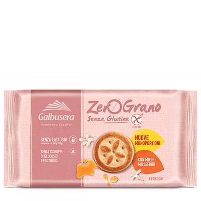 Biscoito sem Glúten com Mel de Flores Silvestres 220gr - ZeroGrano GALBUSERA