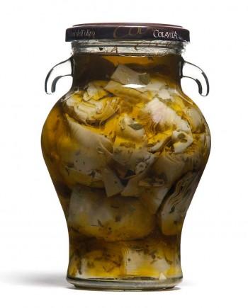 Carciofi alla Paesana Colavita 330gr (Alcachofra cortada temperada)