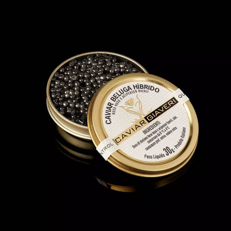Caviar Beluga Siberian 30gr - GIAVERI