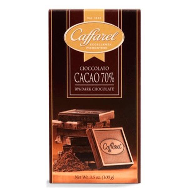 Chocolate Caffarel Amargo 70% Cacao 100gr