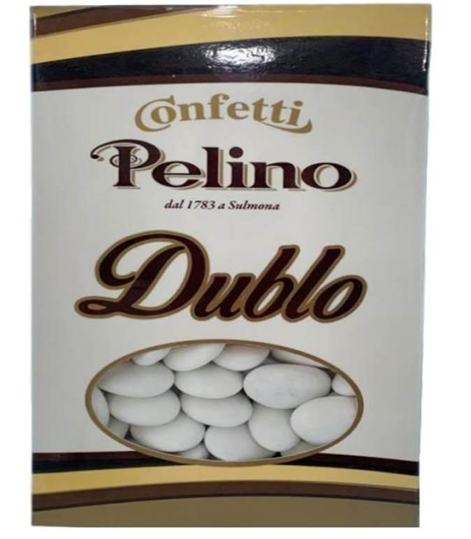 Confeito Recheado com Chocolate Branco, Amargo, ao Leite e Guianduia PELINO 250g