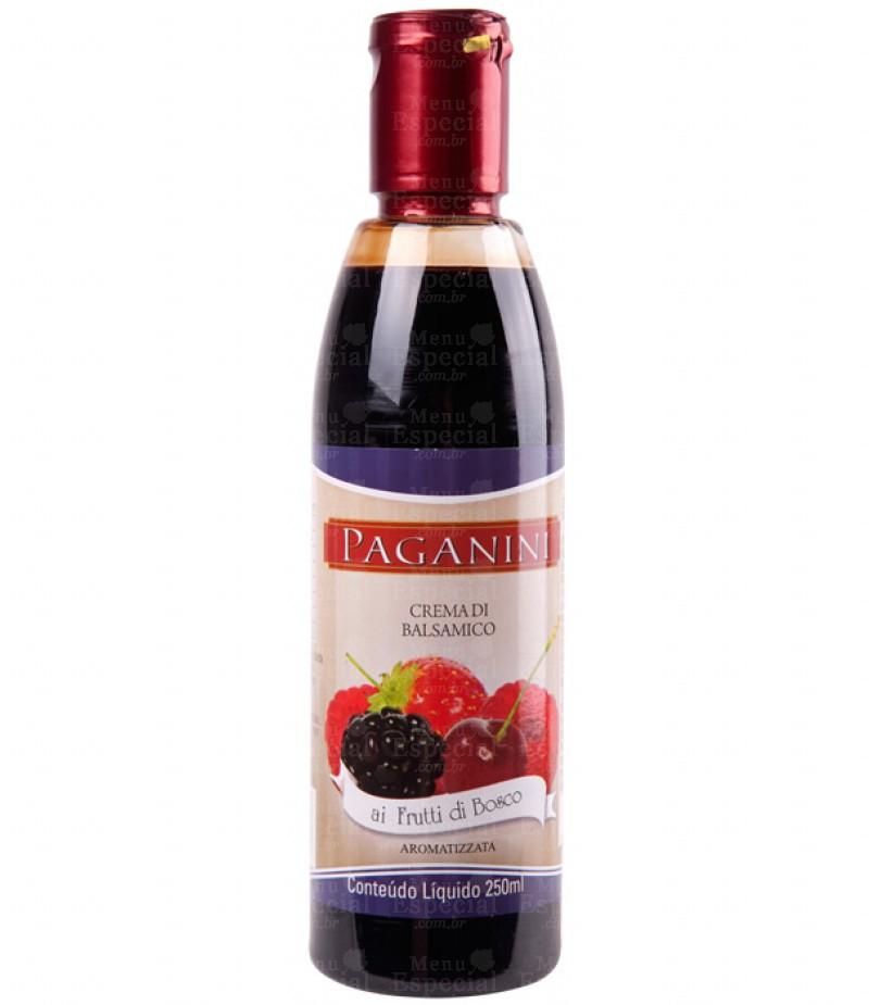 Creme Balsamico Frutas Bosque Paganini 250ml