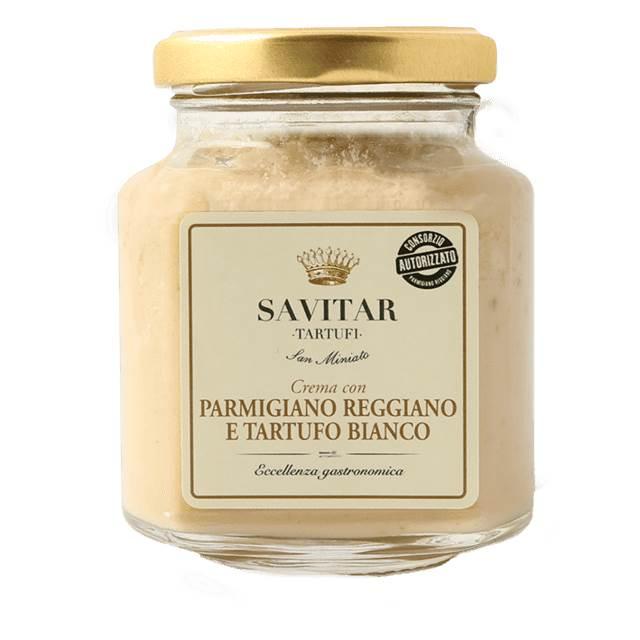 Creme Parmigiano Reggiano Trufa Branca Savitar 180gr