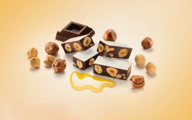 Cremonelli - Torroncini Macio de Chocolate com Avelãs 130gr - SPERLARI