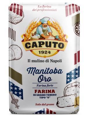 Farinha de Trigo Italiana Manitoba Tipo 0 Caputo - 1kg