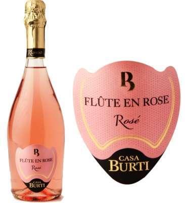 Flute En Rose Casa Burti Extra Dry 750ml