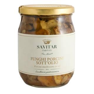 Funghi Porcini Sott'olio Savitar 180gr