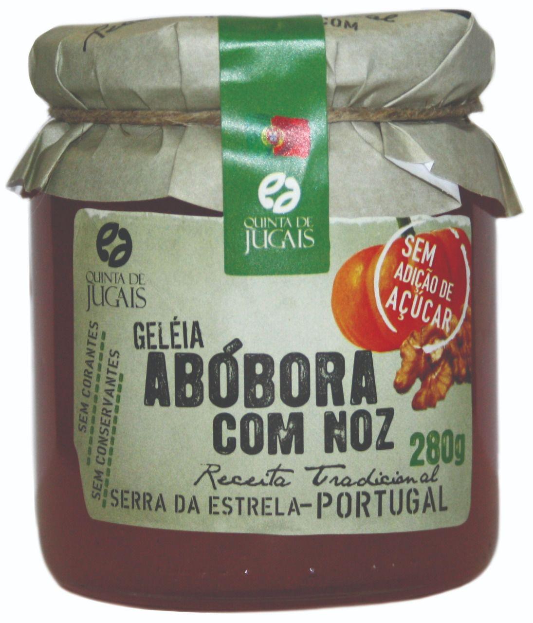 Geléia de Abóbora com Nozes Quinta de Jugais 280gr