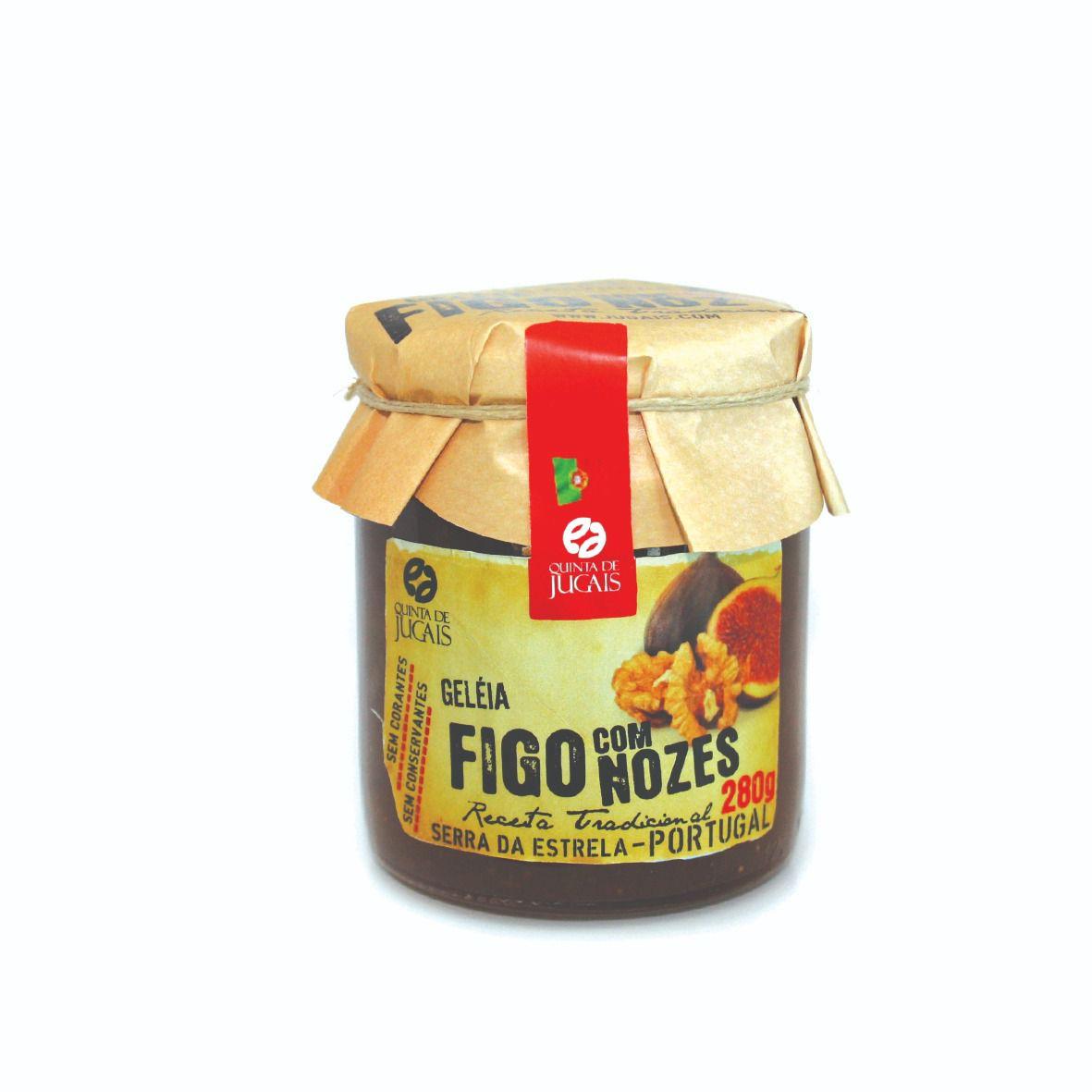 Geléia de Figo e Nozes Quinta de Jugais 280gr