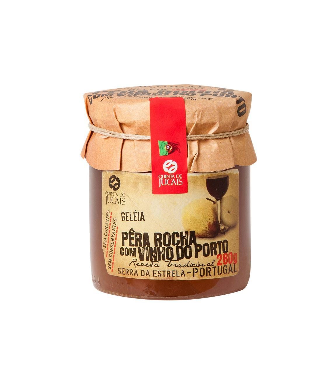 Geléia de Pêra Rocha e Vinho do Porto Quinta de Jugais 280gr