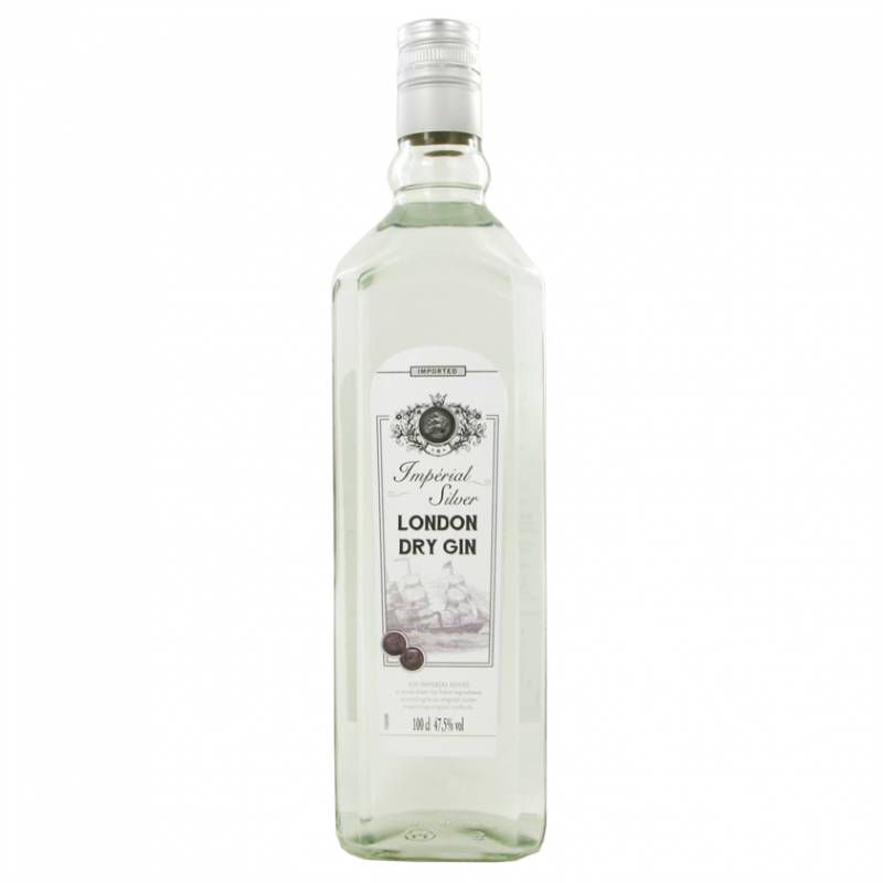 Gin London Dry Imperial Silver 1L