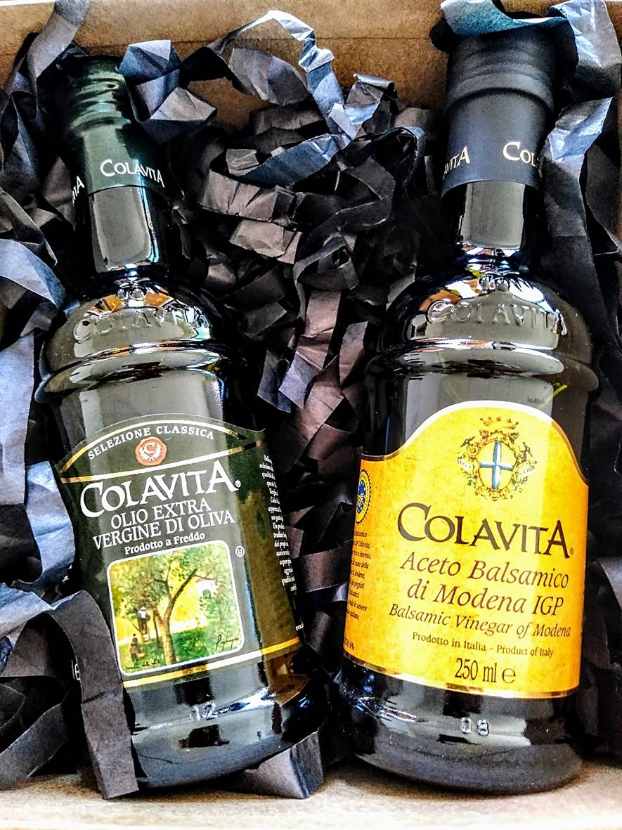 Kit Azeite & Vinagre Balsâmico  Colavita 250ml