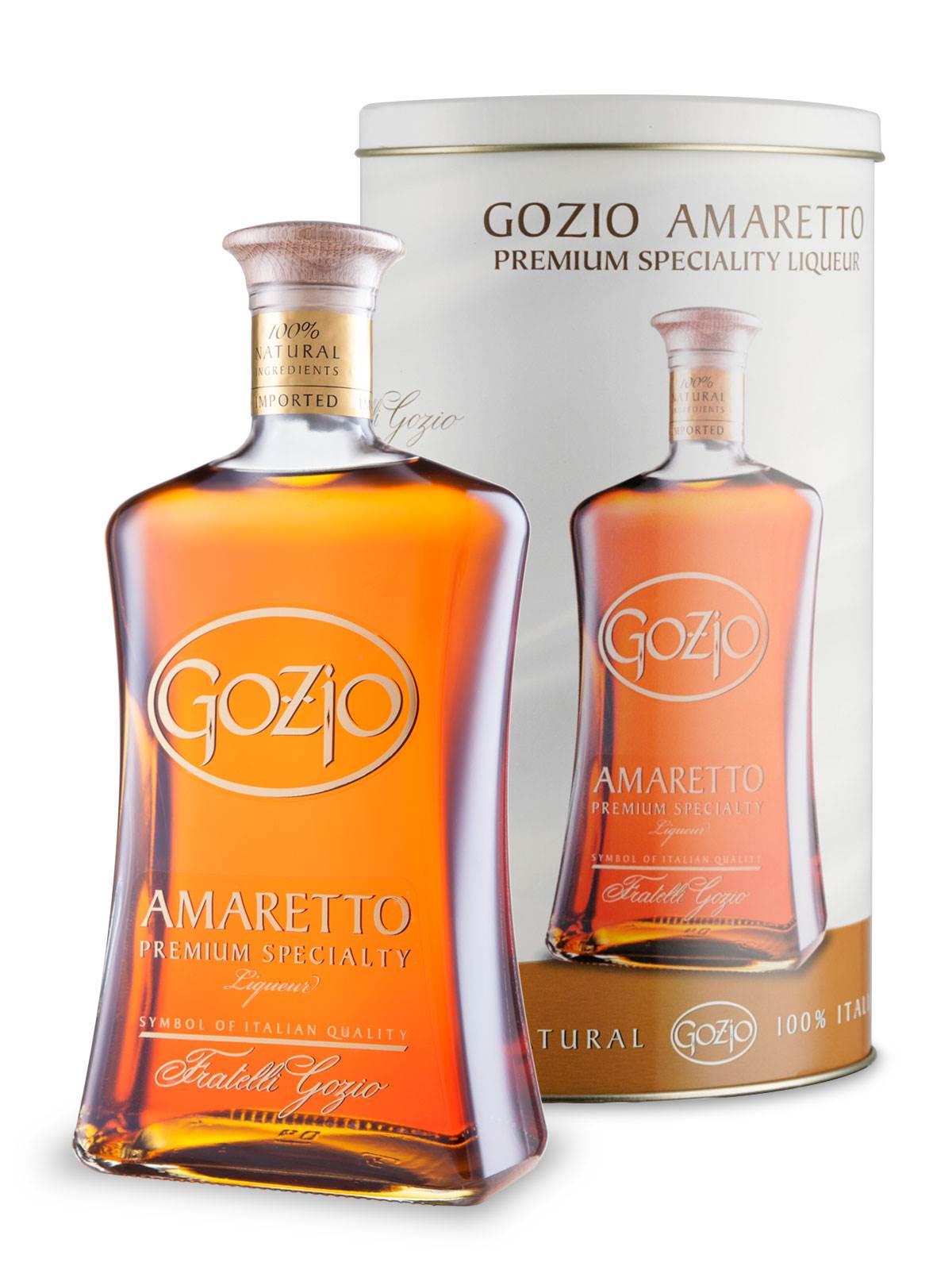 """Licor de Amêndoas """" Amaretto Gozio"""" 700ml"""