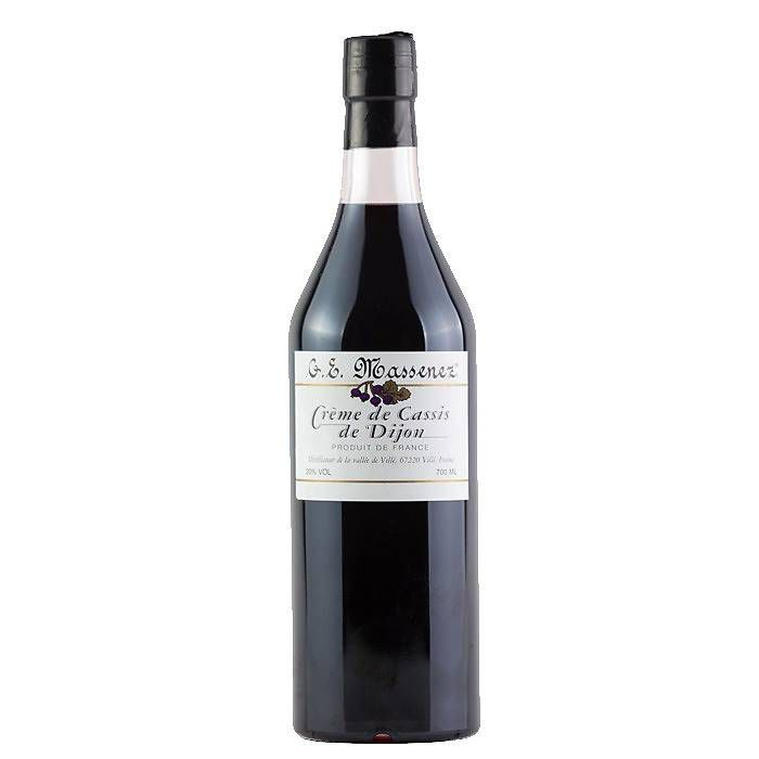 Licor Fino de Cassis de Dijon Massenez 700ml