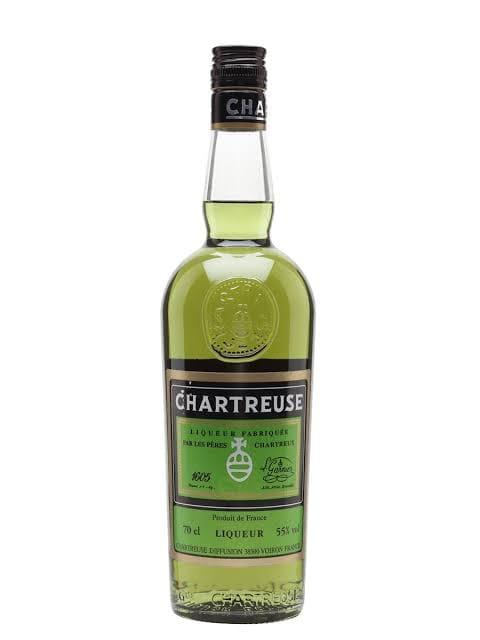 """Licor Fino de Ervas Verde """"Chartreuse Green"""" 700ml"""