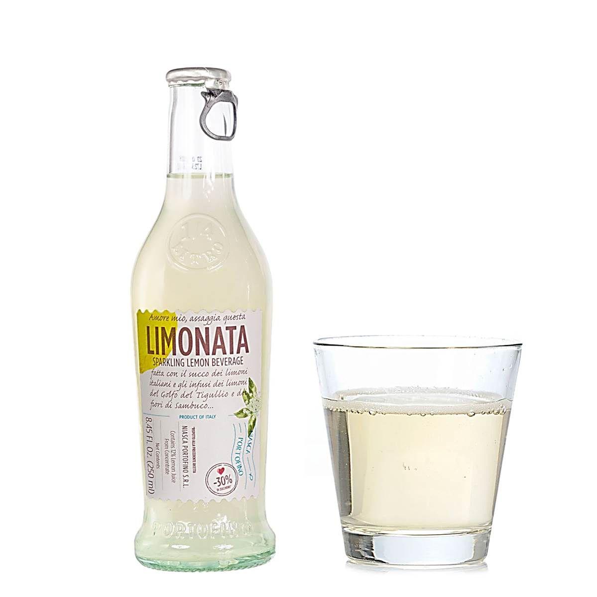 Limonata Bebida Italiana Gaseificada com Limão Niasca 250ml