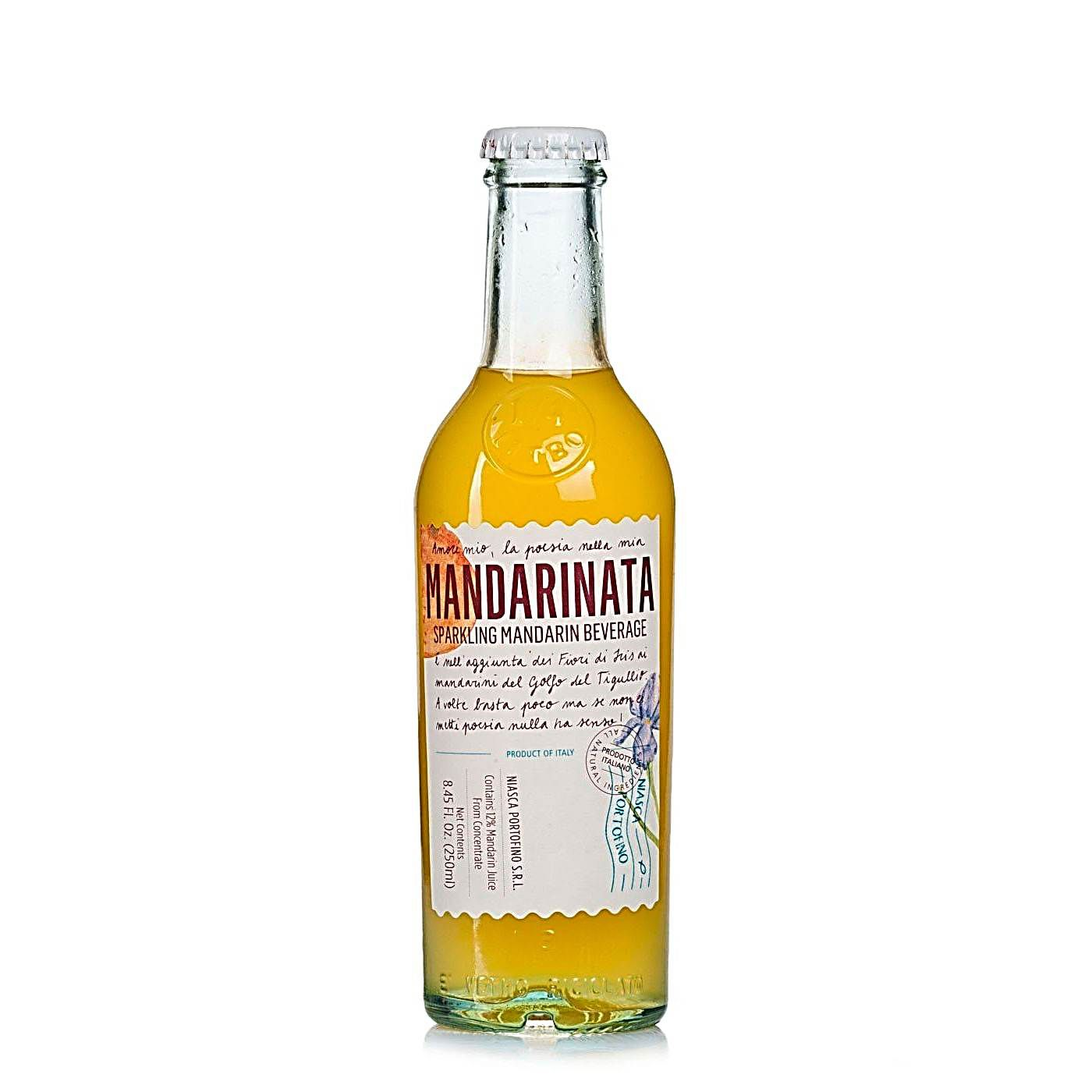 Mandarinata Bebida Italiana Gaseificada Niasca 250ml