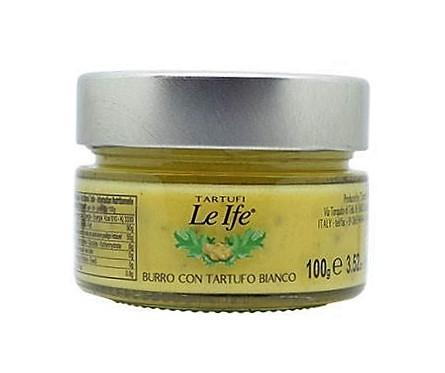 Manteiga Al Tartufo Branco Le Ife 100gr