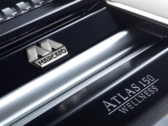 Máquina de Macarrão Atlas 150 Black MARCATO - 3 Tipos de Massas