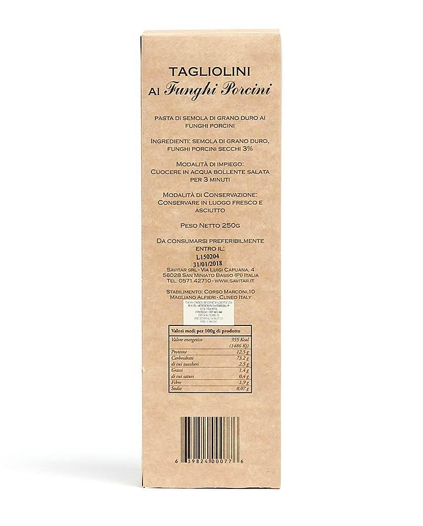 Massa Tagliollini ao Funghi Savitar  250gr